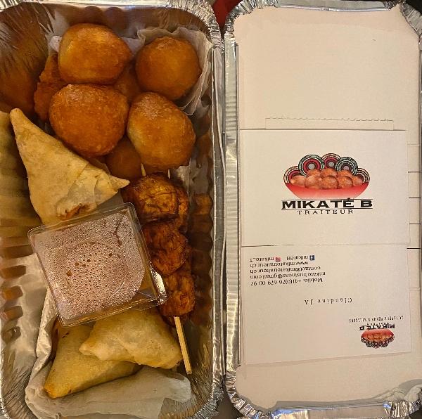 Mikaté B. Traiteur food